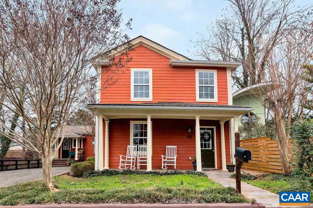 Rare opportunity to live within easy WALKing distance of the vibrant, eclectic restaurants, shops & parks of West Main, the Downtown Mall & UVA!  This 5 bedroom, 3.5 bath EXPANSIVE FARMHOUSE sits on a large city lot & offers ample off-street PARKING, a basement apartment & a totally captivating backyard STUDIO w/ vaulted ceiling.  RENOVATED & ADDED ONTO, this home feat. many modern amenities (upstairs laundry, newer windows, stainless appl, recessed lights), an open floorplan, built-in bookcases, bright master bedroom, wide-plank hardwood floors on the main level & more. Socialize on your front porch overlooking a favorite Fifeville streetscape or enjoy the ambience & relative privacy on the back screened porch & patio. So much to love!