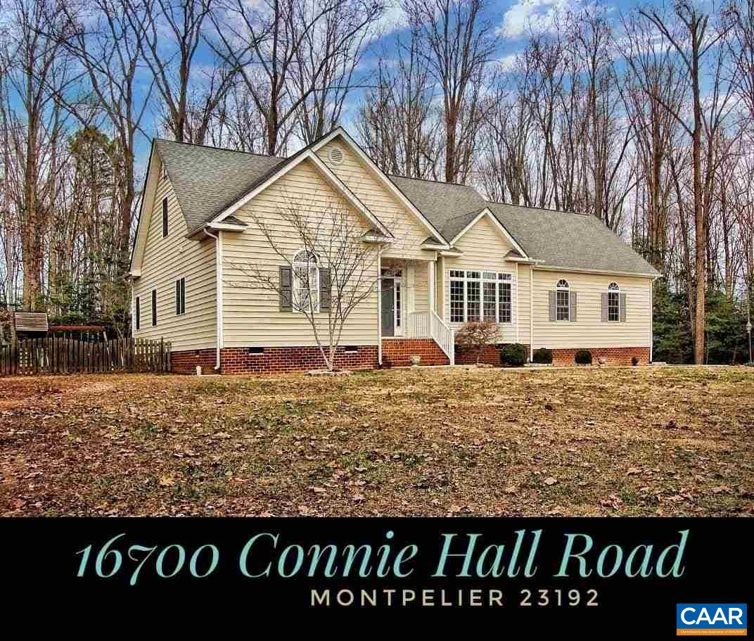 16700 CONNIE HALL RD, MONTPELIER, VA 23192