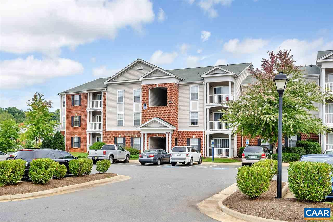 Rare three bedroom three bath condo unit with great rental history in desirable Eagles Landing.  Amenities galore with one of the largest community fitness centers in Charlottesville.  Basketball courts, sand volleyball, large pool, library and frequent shuttle services to UVA and PVCC and more.   Don't wait!
