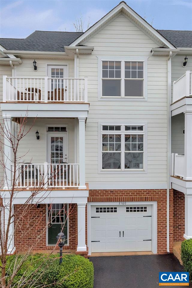 So close to Martha Jefferson hospital, Downtown Charlottesville, 64, Darden Towe park (and dog park), this exceptionally cared for one-owner home in the Pavilions of Pantops has an open layout, hardwood floors, high ceilings, recessed lights, and mountain views from the master bedroom and main level. Double porches in front, deck in the rear that backs to private grassy slope area. Finished basement and painted garage. Live an easy lifestyle in this home that has been freshly painted, and the HOA maintains the grass in the front and back.
