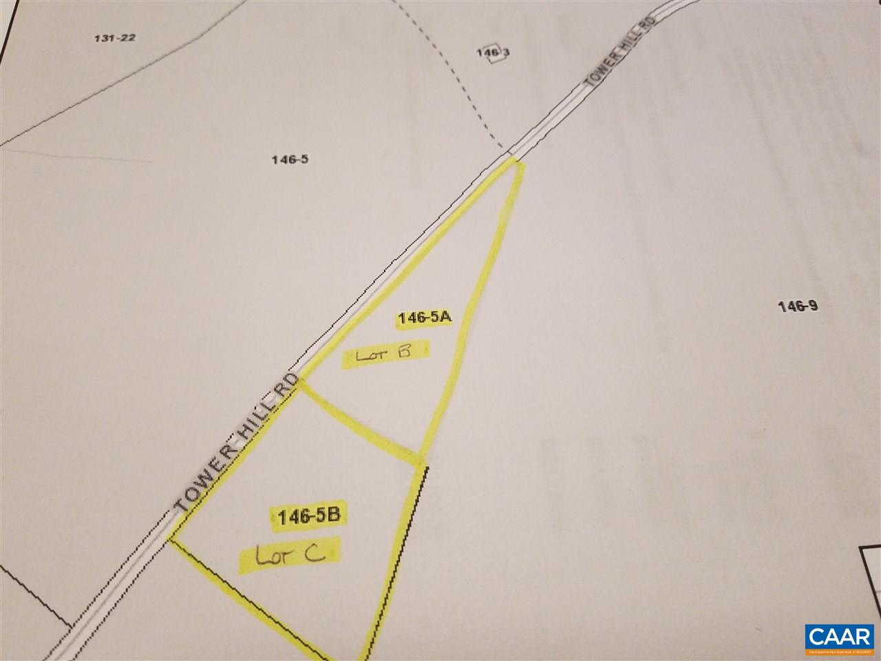 Lots B&C TOWER HILL RD, GLADSTONE, VA 24553