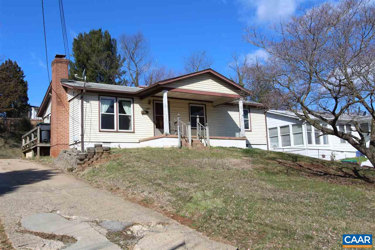 Belmont rancher in need of interior renovation.  3 bedroom, 1 full bath, large living room with woodstove, and family room addition.  Roof, windows, and HVAC replaced in the last 10 years.  Lots of off-street parking; shed with electric.  Walk to many restaurants; nearby bus stop.  Sold strictly AS-IS.