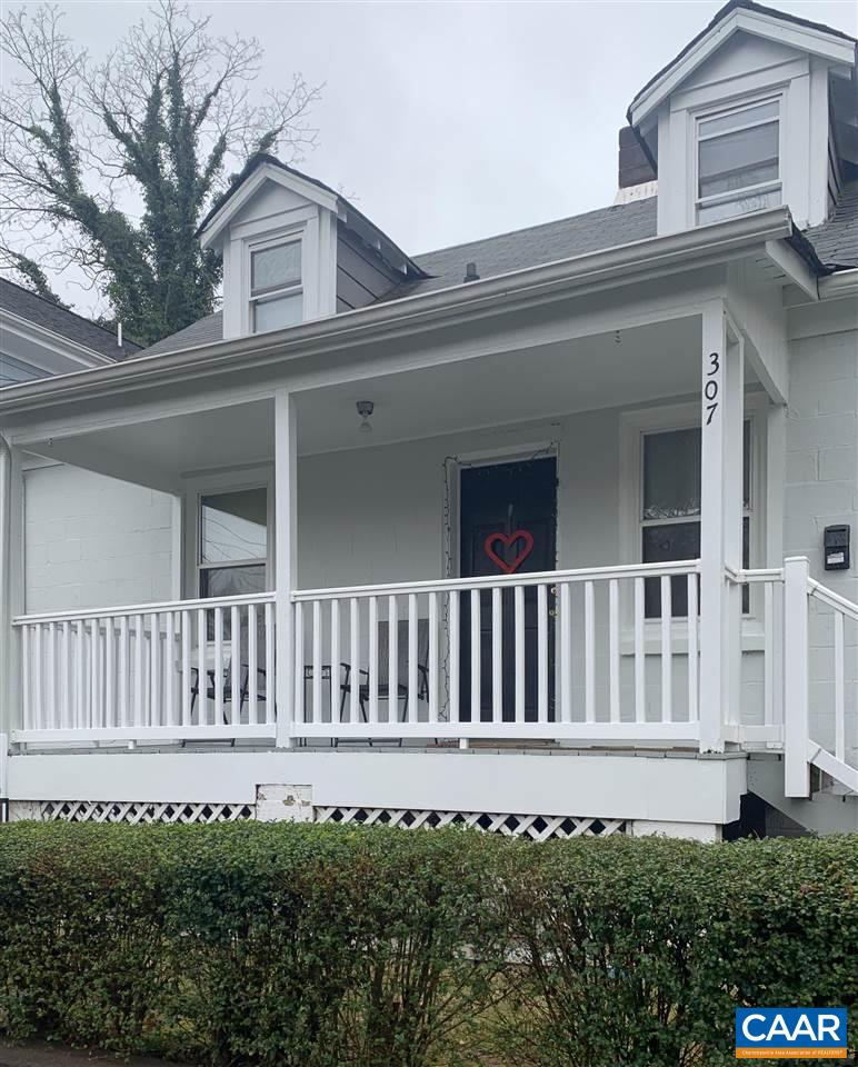 Walk to UVA, downtown mall, train station, restaurants and shops! Charming cape cod with updated kitchen, hardwood floors and two parking spots in the back. 3 bedrooms, 2 full baths, with outdoor patio for entertaining. Brand new HVAC and exterior paint. Interior painted in July 2019. Great investment opportunity.