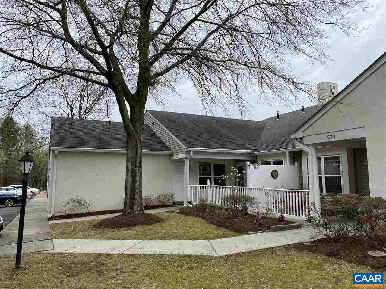 Easy turn key living. Charming, well maintained in move in condition. Main level living area features an eat in kitchen, open living room and dining room, master suite with office or bonus room, guest bedroom, and plenty of natural light. Large one car garage with extra storage. Finished basement rooms can be used in many ways.  The Villas Condominiums Dues are $277.47 paid monthly. The Property owners Assoc dues are 356.19 paid quarterly at the end of the month. Dues cover trails, pond, exterior maintenance water, sewer, trash, gas, grounds, leaves, gutters, master insurance etc everything except homeowner pays for their electricity.