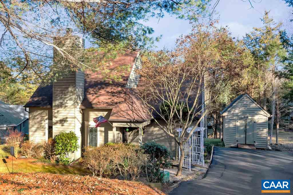 PRICED TO SELL QUICKLY! Tucked away on a quiet cul-de-sac in desirable MILL CREEK, this charming home has everything you're looking for!  OPEN FLOOR PLAN allows you to cook in RENOVATED GOURMET KITCHEN (inc. island, tall white cabs, tile backsplash, granite ctrs, stnls appl) while friends & family cozy up to the fireplace. Natural light streams in NEW WINDOWS & FRENCH DOORS lead to deck & backyard. FIRST-FLOOR MASTER SUITE plus 3 spacious beds & bath upstairs. Enjoy the SERENITY while being close to everything. You simply can't beat this LOCATION - 5 mins to 5th St Station (Alamo theater, Wegmans, restaurants), 10 mins to Downtown & easy access to I-64/UVA/hospitals. Nature at your doorstep w/ nearby walking trails (Biscuit Run, Monticello)