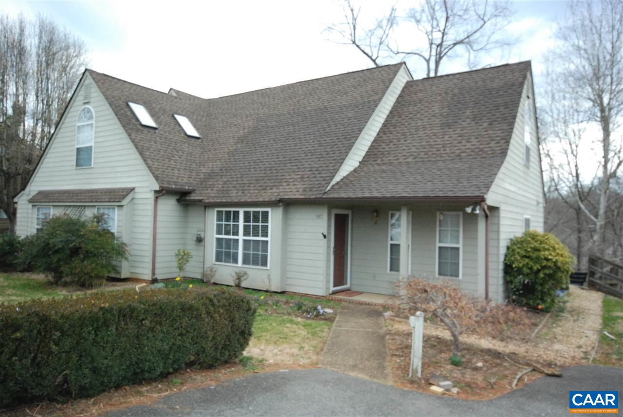 Updated Highlands attached home with first floor master suite. Blooming spring yard with lots of color. Teak hardwood floors in the living and master bedroom. Gas fireplace in the living. Loft which opens to the living room. Bright and spacious home. HVAC new in 2015. Roof 2016. SS appliances with granite countertops. Recessed lights. Newer light, and plumbing fixtures. Back yard is fenced with tiered deck. Tiered raised beds for plants and flowers. Storage.  HOA mows the front and side yards.
