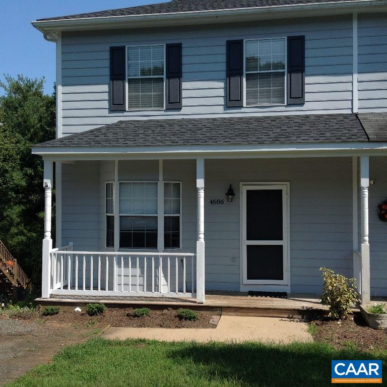 *16 x 10 rear deck *Fenced rear yard and a peaceful view of the woods *Lower level has a large 19 x 12 storage/laundry room with its own entrance *Finished recreation room with sliding glass doors to rear yard. * Three minutes to NGIC. 20 -25 minutes to UVA.  Recently painted inside and out.