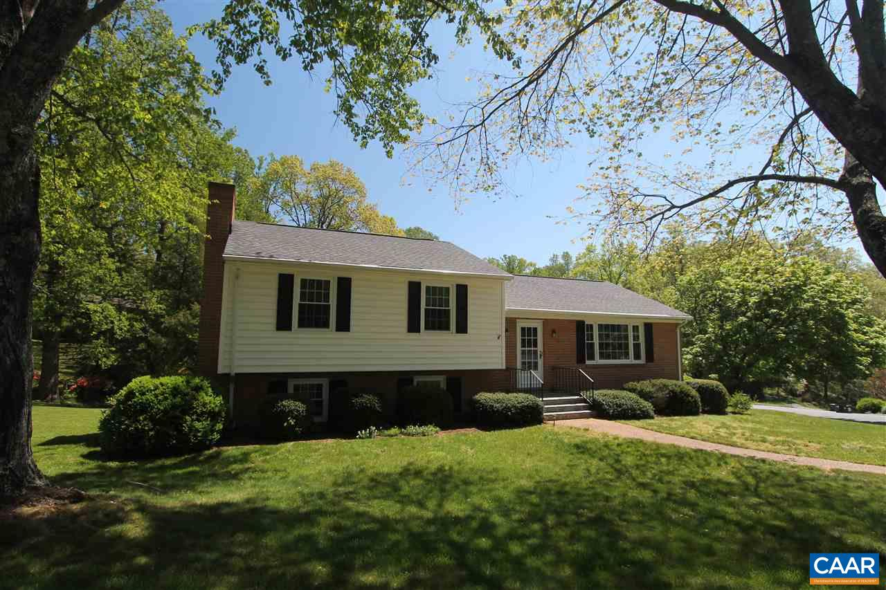 Classic design, MOVE-IN ready home in the established city neighborhood of Greenbrier located on a low-traffic street with sidewalks. Walk to Greenbrier Elementary School or the Rivanna River Trail & just a short 10 minute drive to Downtown & Rte. 29. Quiet, city living in total privacy on a great corner lot. Immaculate home featuring beautiful hardwood flooring, updated kitchen with stainless appliances, 3 remodeled full baths, 4 bedrooms, living, dining & rec rooms plus a one car garage & storage area. Walkout basement to the level yard with an invisible fence, patio & large deck. Newer architectural roof & dual fuel, HVAC system.
