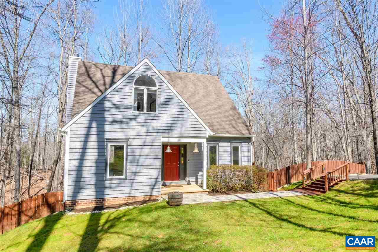 Great value at $399,500, this beautifully maintained two-story contemporary cottage in popular Mill Creek features 3 large bedrooms and 2.5 baths. Over 2,000 sq ft plus 1,168 sq ft unfinished walk-out basement. Conveniently located just minutes from Fifth St Station, Downtown Cville, UVA Grounds and I64. Expansive rear deck overlooks fenced backyard and large wooded common area. Recent improvements include newer HVAC system and water heater, repainted main level, newer flooring and bathroom fixtures. Kitchen upgrades include newer appliances, hand-poured concrete countertops with custom tile backsplash plus expanded cabinetry and pantry space. Exterior has new custom front walkway, repainted siding and re-stained decks and railings.
