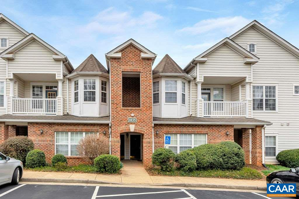 Convenient living in this maintenance free, amenity rich condo close to anything you could need in Charlottesville. Walk to the numerous retail options in Pantops (grocery, restaurants, Starbucks, etc) and just a short ride to both hospitals, UVA, I-64, and downtown. Move right in to this one bed/one bath condo with brand new carpet and start enjoying all of the amenities in Carriage Hill including a pool, jetted hot tub, lighted tennis courts, play areas, basketball court, clubhouse, exercise room, sauna, dog park, walking path and more. Dues cover all exterior maintenance as well as water and sewer.
