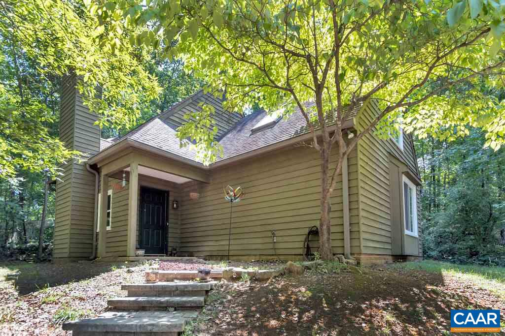 HIGHLY MOTIVATED SELLER- BRING OFFERS...There is so much to love about this Mill Creek home: NEW in the past 5 years: HVAC, Windows (double hung, tilt sash) and deck door, Dishwasher, Washer and Dryer. NEW ROOF AND CARPET BEING INSTALLED.. First floor master bedroom has a walk-in closet with a recently updated and attached master bathroom. There is an additional half bathroom on the main level and the 3 upstairs bedrooms are larger. The 4th bedroom could easily be used as a bonus room as it is huge! There's ample storage throughout the home. The kitchen offers ample countertop space and cabinetry. There is also a built-in desk area. The family room hosts a wood burning fireplace and access to a side deck. Located just 3 miles from UVA/Mall.