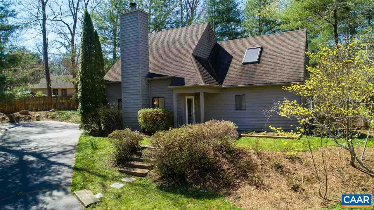 Beautifully renovated, 4 BR Mill Creek South home perfectly sited on a quiet cul-de-sac w/ (new) fully fenced backyard. Modern kitchen features concrete counters, tile backsplash, EnergyStar appliances & walls of stylish, birch cabinets w/ under cabinet lighting. 1st fl. master w/ attached full bath plus 3 spacious BRs & full bath upstairs. Open floor plan includes a sunny family rm w/ wood burning FP, dining rm, plus an extra 1/2 bath on the main level. Hardwood & tile floors, fresh interior paint, new Trane heat pump (2019), new microwave, water heater & W/D. Major landscaping to fence, level & open backyard. Ideal location - 5 mins to 5th St. Station, 10 mins to UVA. Extensive trails w/ access to Biscuit Run! See VIRTUAL TOUR!