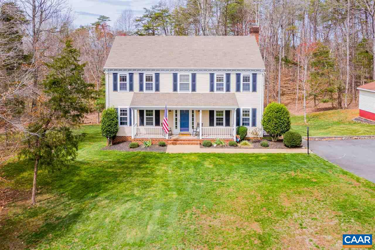 Beautiful 5 bedroom home conveniently located in the North Pines neighborhood. This home is a phenomenal property for that growing family or for those who love to entertain. With two fireplaces, a finished basement, a screened-in porch wired for entertainment needs and an expansive and mostly level backyard. The areas for relaxation or entertainment are endless. Located just minutes from NGIC/DIA, 15 minutes from shopping, restaurants and the airport, 25 minutes to downtown Charlottesville and UVA. Don't miss your chance to view this property today!