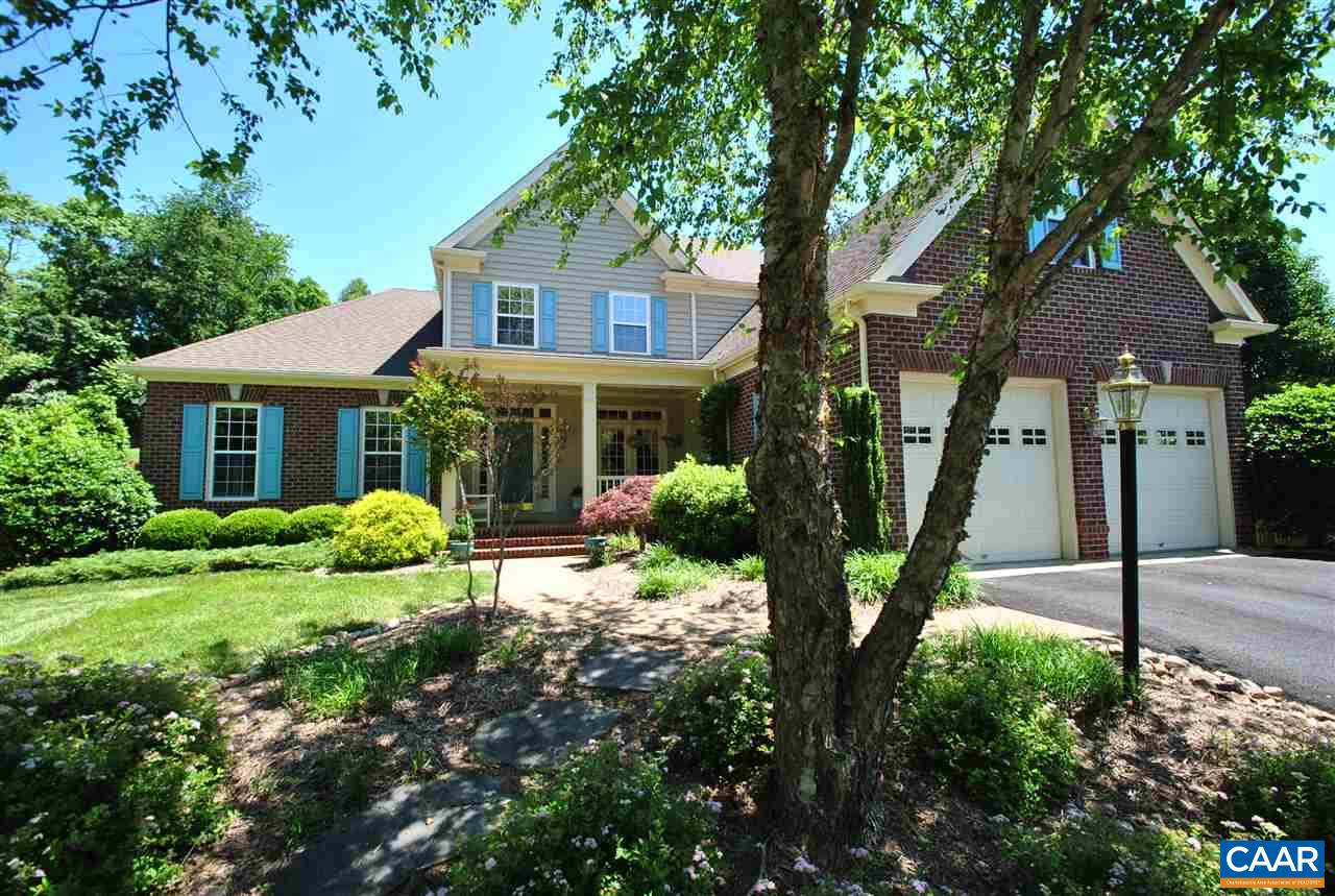 Exceptional home on manicured private lot in desirable Mosby Mt. neighborhood. Open and bright floor plan with 1st floor master suite, home office #1 features custom french door and transom entry. Vaulted ceiling in family room overlooking private back yard. Gourmet kitchen with granite counter tops, stainless appliances, eat in kitchen with views.  2nd office/study with built in shelves located behind kitchen.  3 generous size bedrooms on second level along with central area with many flexible options from play area, study, etc. New and quiet operation whole house fan to efficiently cool and draw in fresh air. Outstanding location with quick access to 5th Street Station, downtown and future Biscuit Run state park, and Walnut Creek park.