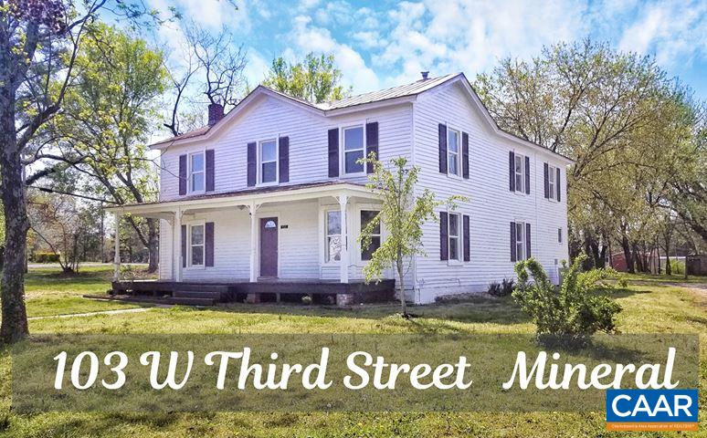 103 W THIRD ST, MINERAL, VA 23117