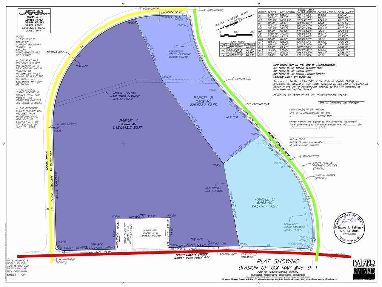 38.61 ACRES MT CLINTON PIKE, HARRISONBURG, VA 22801