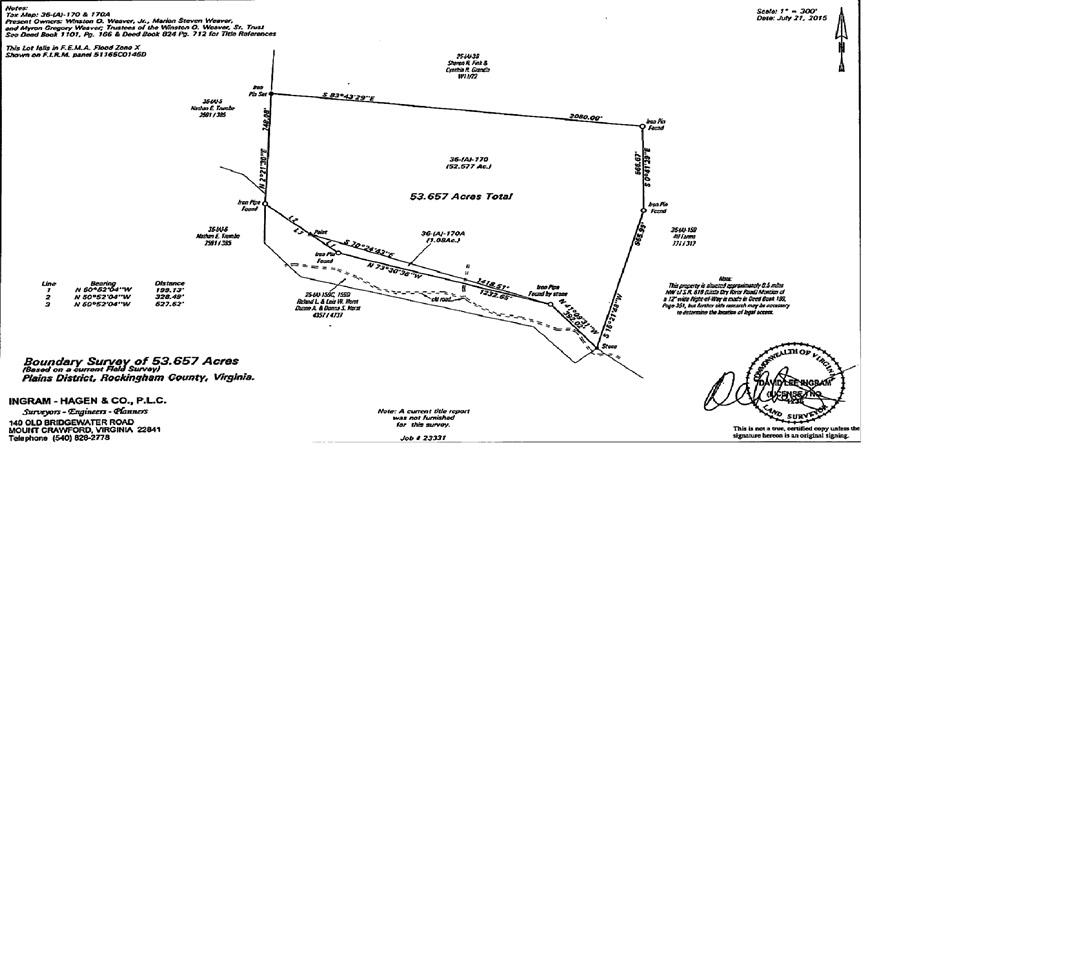 LITTLE DRY RIVER RD 36-(2)- L3A, FULKS RUN, VA 22830