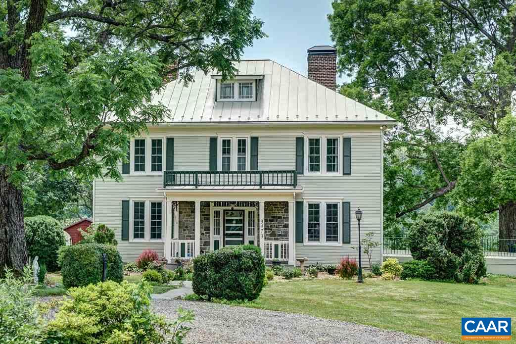 Stunning, historic farm in Afton at the foot of the Blue Ridge Mountains