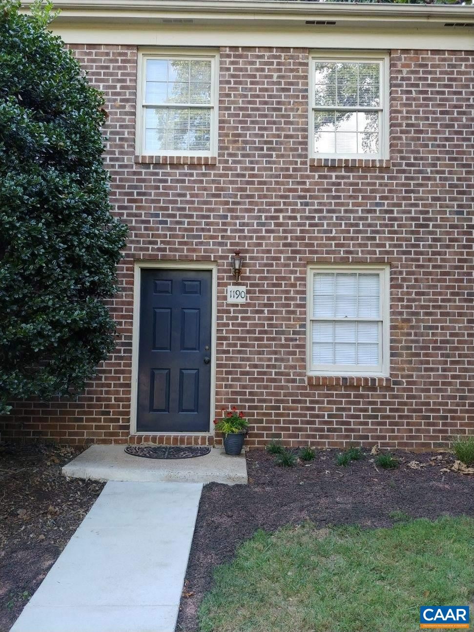 Why rent?  Own this 2 bedroom 1 1/2 bath condo w/ prime Albemarle County location minutes from C'ville downtown mall, UVA, shopping, Rivanna Station & more.   Appliances included! The home was renovated 18+/- months ago w/ new carpet & vinyl flooring, kitchen cabinets, paint, etc. Great back yard w/ wooded area behind the home. Come see the value & prime location for yourself.  Low monthly payments less than rent!