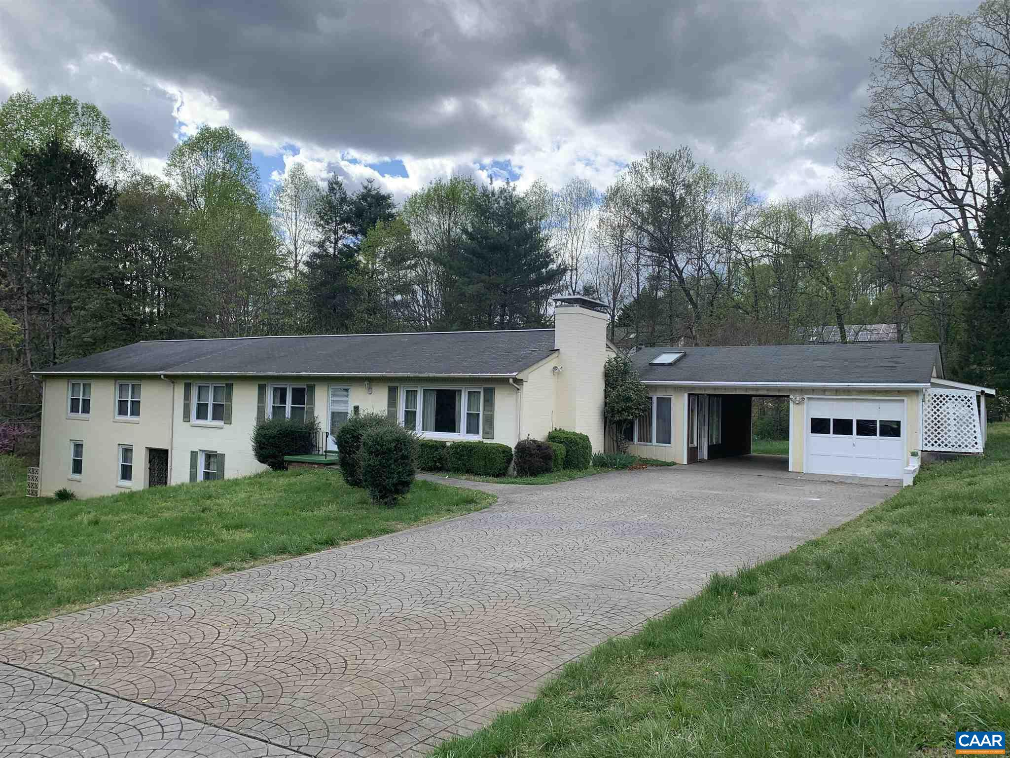 """Rare find in today's market a large home on almost an acre w/ prime location off Rio Road.  Basement had been used as an apartment.  Upgrades include detached garage & elevator.  Being sold """"as is"""" """"where is""""  to settle estate."""