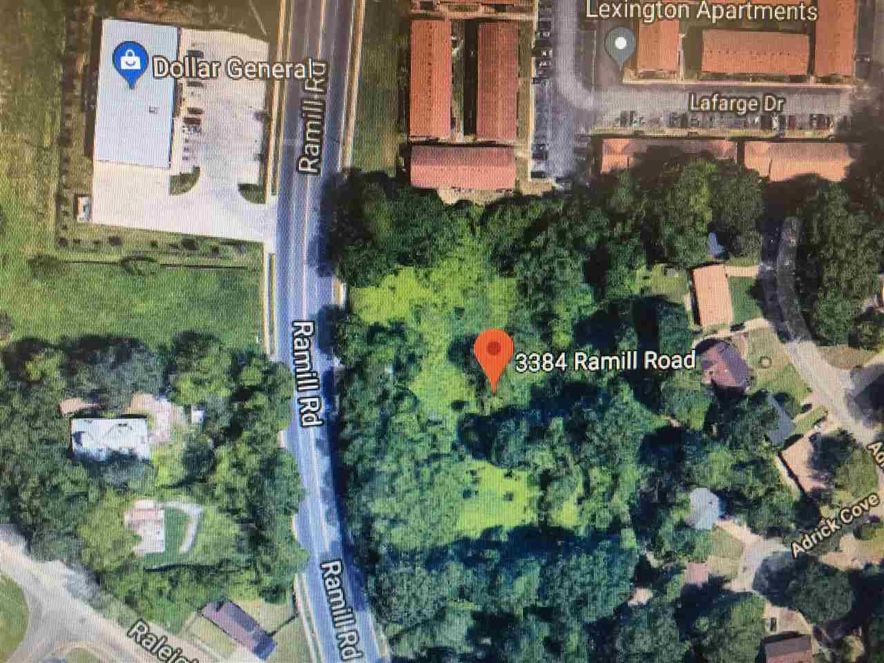 2.43 acre vacant lot currently zoned R-8.  Currently zoned residential but great potential for commercial usage.