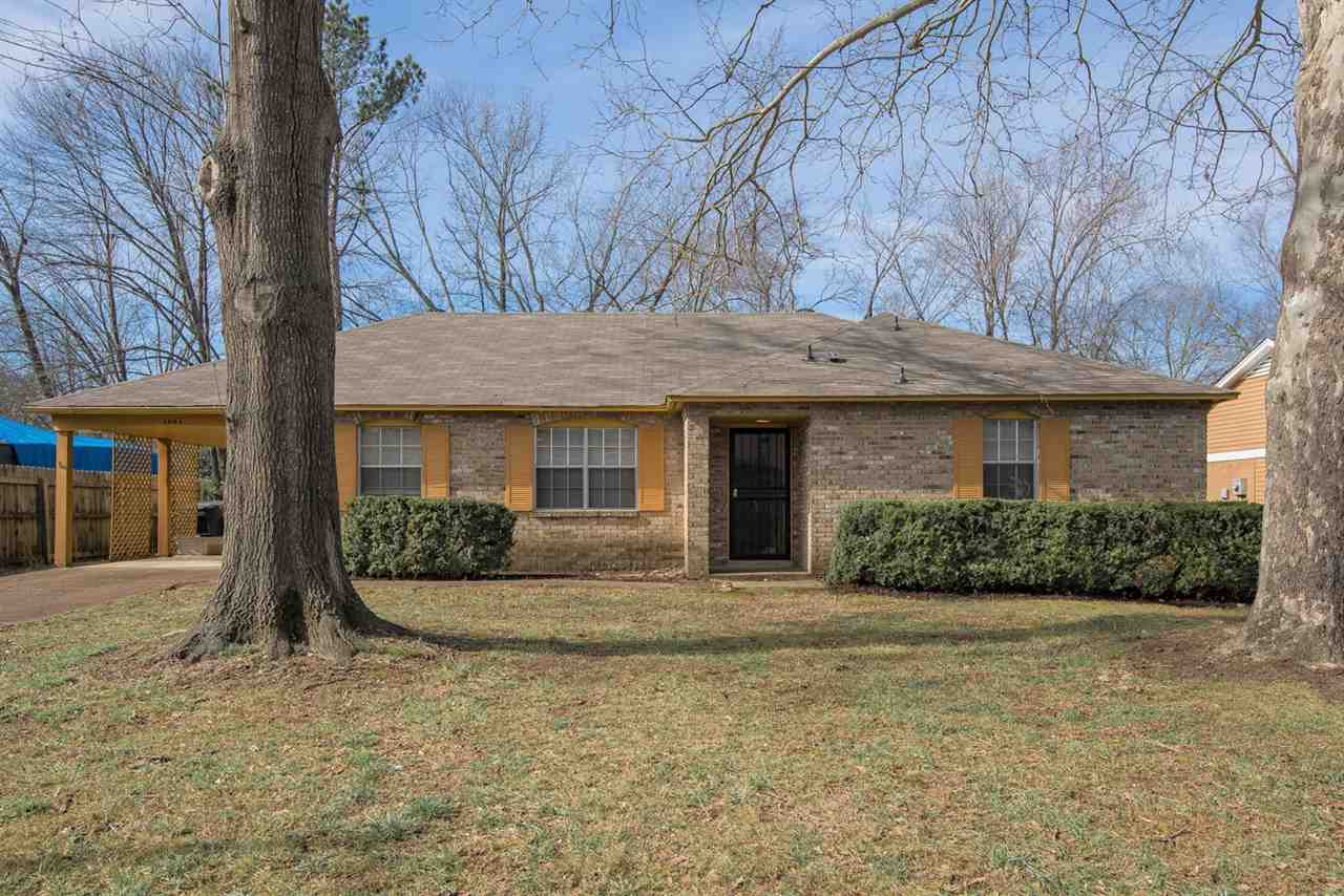 Quick possession! All brick 3 bedroom, 2 bath, one level home just minutes from conveniences. Separate living room, dining room and den. Eat-in kitchen offers ample cabinets and a spacious pantry. Refrigerator, washer and dryer remain. Smooth ceilings. Roof less than 5 years. Covered patio and fenced backyard with storage building.