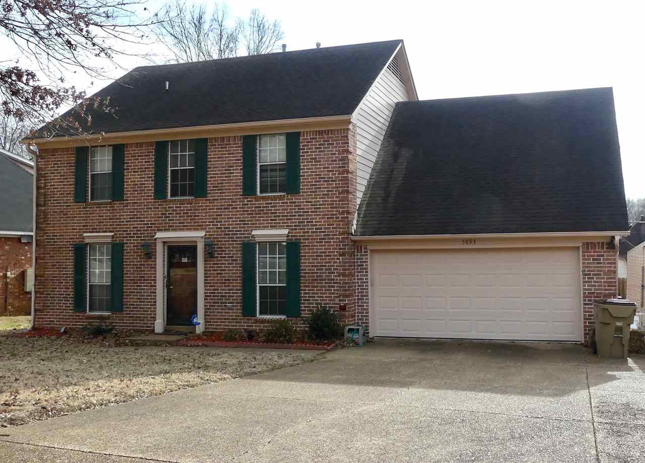 5893 PIPERS GREEN LN, Unincorporated, TN 38135