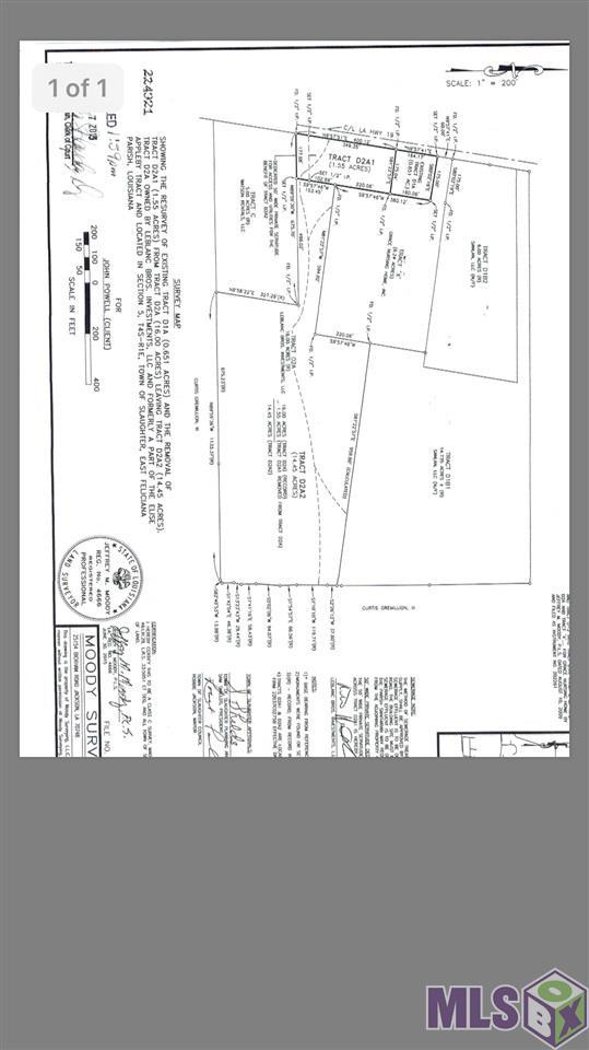 Lot 3 Tract D1B LA HWY 19, Slaughter, LA 70777