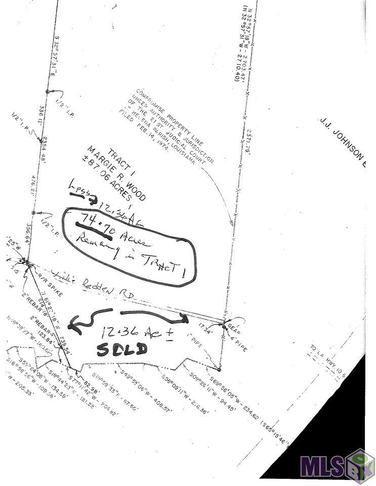 99999 WILLIE REDDEN RD, Greensburg, LA 70441
