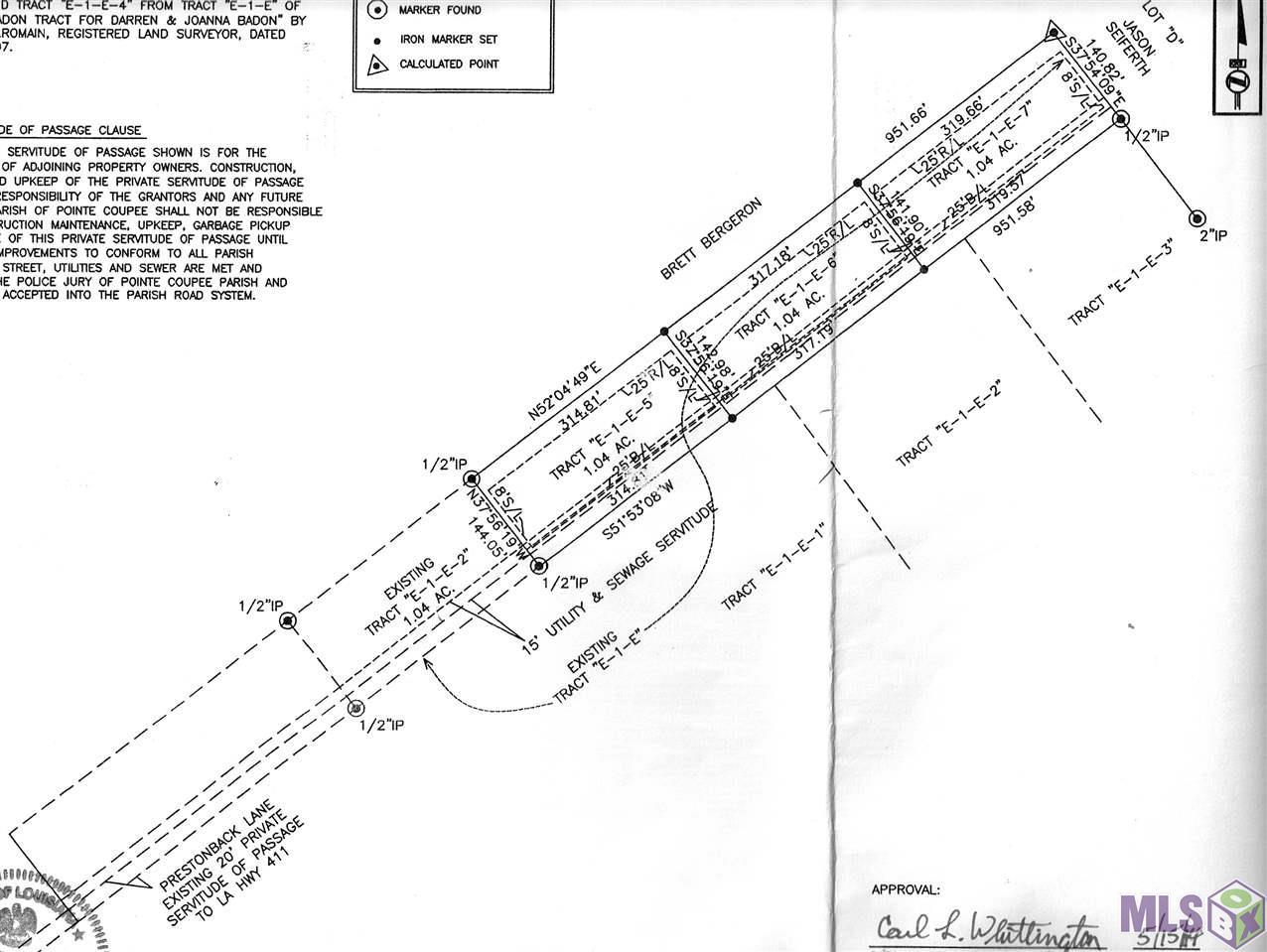 E-1-E-4 PRESTONBACK LN, Maringouin, LA 70757