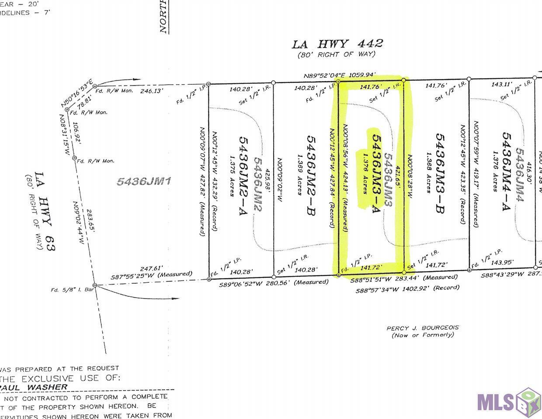 LOT 5436JM3-A LA HWY 442, Livingston, LA 70754