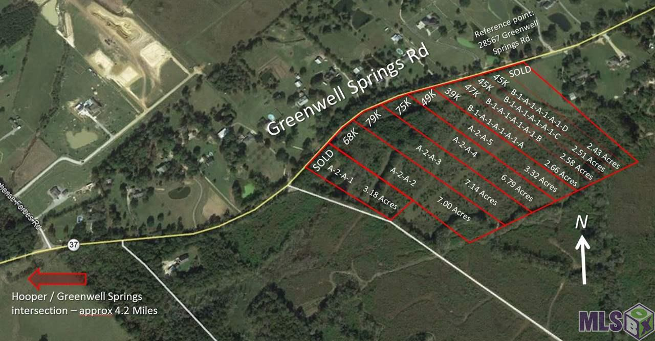 Lot A GREENWELL SPRINGS RD, Greenwell Springs, LA 70739