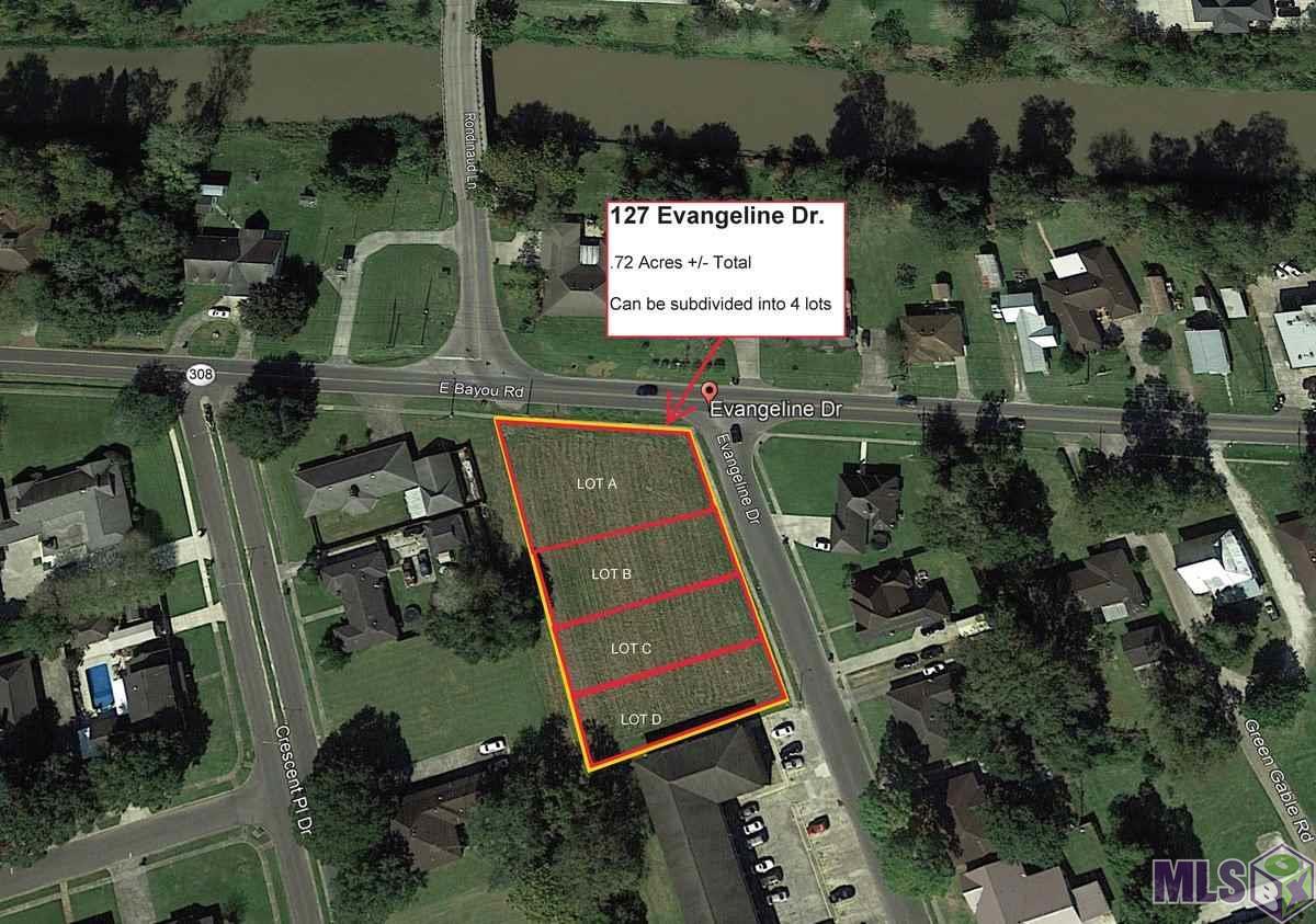 Proposed lot C EVANGELINE DR, Donaldsonville, LA 70346