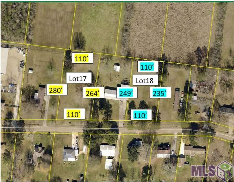 2752 RUSH ST Lot 17, Slaughter, LA 70777