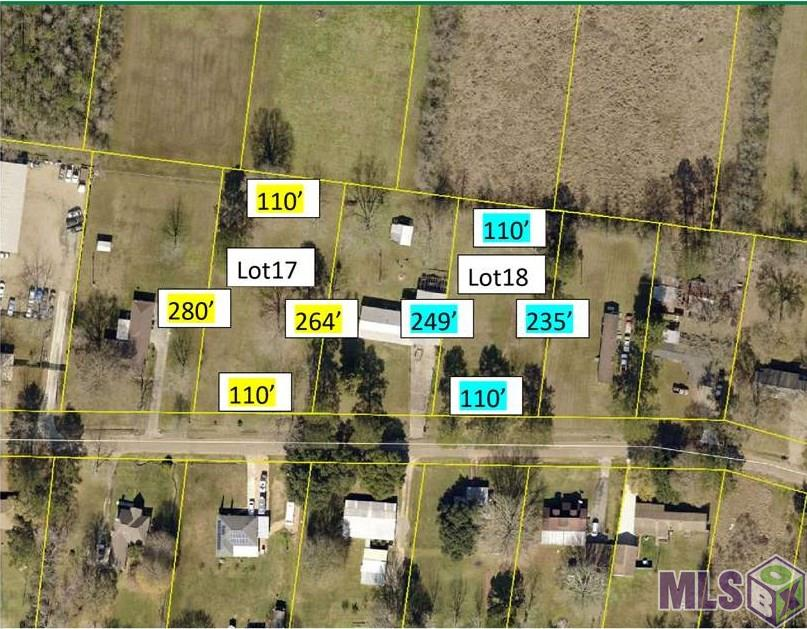 2752 RUSH ST Lot 19, Slaughter, LA 70777