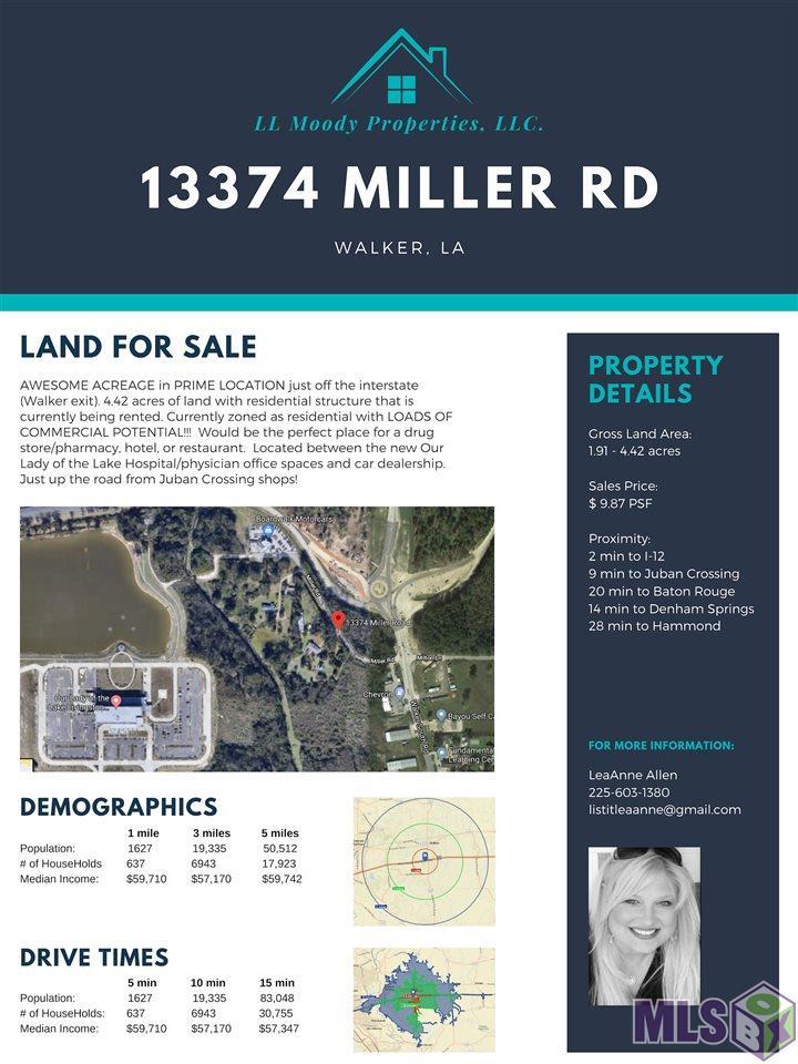 13374 MILLER RD, Walker, LA 70785