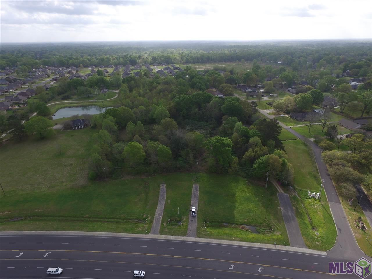 Large tract of land in the perfect location!