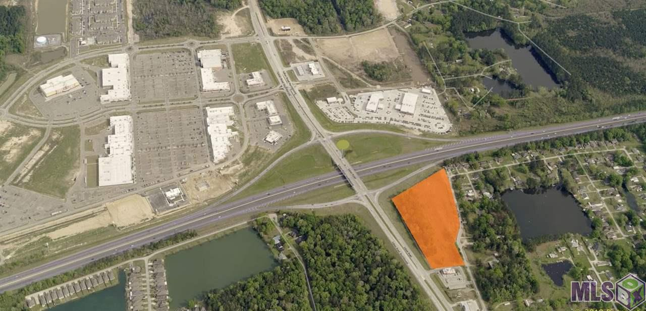 Great visibility! This tract is perfect for commercial retail development with I-12 frontage. The parcel is located adjacent to Dairy Queen at I-12 & Juban Rd in Denham Springs. Demco power line on the property may possibly be relocated to create more usable area. Ground lease available. Contact agent for additional information.   *Flood Zone X  *6.92 +/- Acres  *I-12 Frontage  *Juban Rd Frontage  *Ground Lease Option