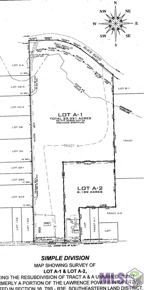 """33.351 acres suitable for subdivision and zoned residential """"medium intensity""""."""