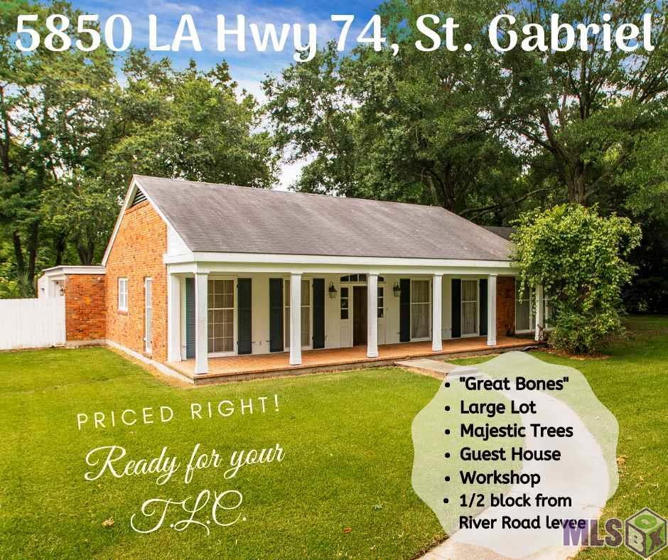 5850 LA HWY 74, St Gabriel, LA 70776