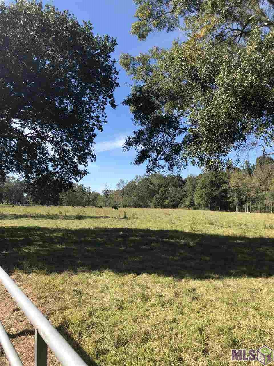 """Beautiful tract of land - 13.44 ACRES **PART OF THE LAND IS FLOOD ZONE """"X"""" - so if your house is built on that portion - no flood insurance will be required.**  DUTCHTOWN  SCHOOLS!! YOU MUST SEE this property to  APPRECIATE...you will be amazed!! THERE IS A TOTAL OF 13.44 ACRES - SELLER WILL SELL ALL 13.44 ACRES OR SPLIT INTO 2 TRACTS (4.6 & 8.84). DID NOT FLOOD in 2016."""