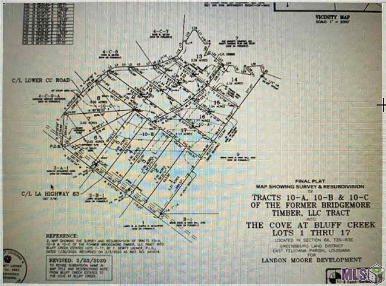 Lot 17 FELICIANA, Clinton, LA 70722