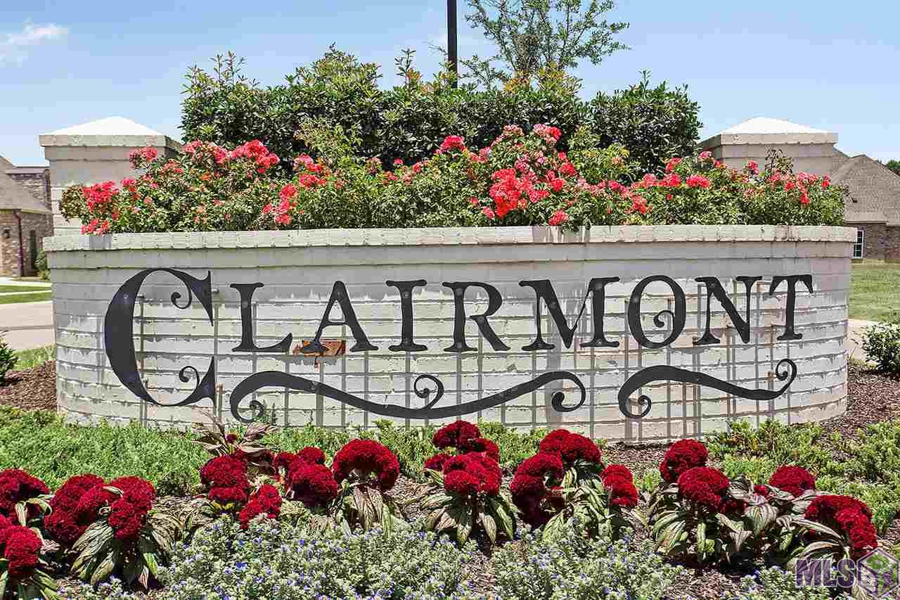 Build your dream home in the newest upscale community in Zachary...CLAIRMONT where you can step out your back door and soak in the ambiance of the shade trees dancing in the wind around tranquil Lake Shirley. Cast a fishing line in one of the two-five acre lakes, walk the beautiful walking trail, enjoy watching your children play on the community playground or socialize at the community pavilion with your neighbors. Clairmont is sure to evoke a relaxing and peaceful ambiance where the living is easy!