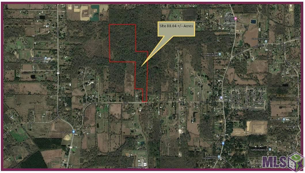 Great tract of land located on Core Lane in Central. A perfect place to build a dream home, a family compound or a potential subdivision development. Property is located between Joor Road (LA 964) and Blackwater Road (LA 410). Currently zoned Rural and proposed on the Central Future Land Use Plan as Agricultural and Rural Residential.