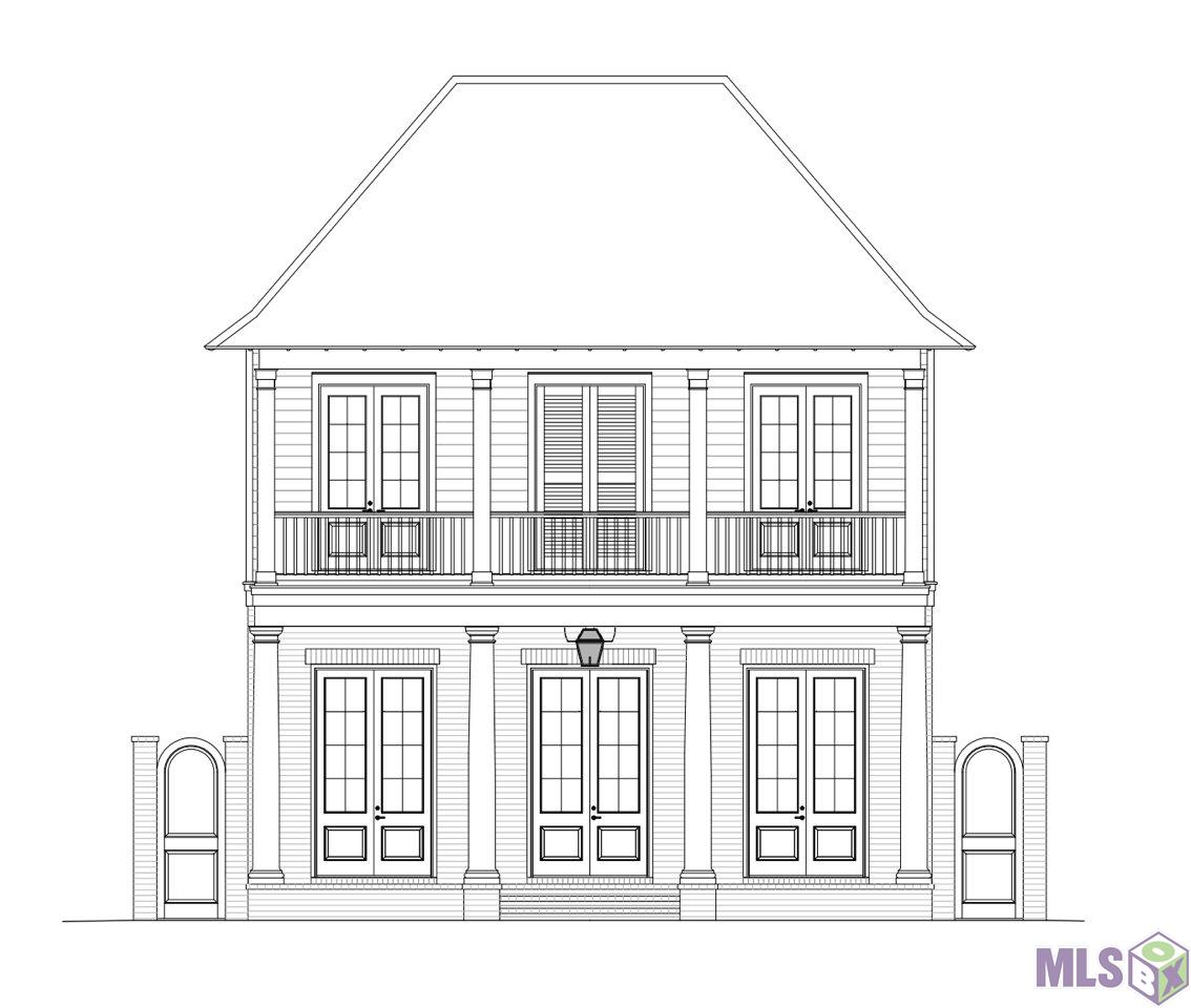 Beautiful new construction home in the desirable Village at Magnolia Square! This home features 4 bedrooms, 3.5 bathrooms , a home office and stunning New Orleans style balcony. The first floor features  a spacious living space, fireplace in living room, large island in the kitchen and the master suite. You will love the functionality of the laundry room being attached to the master closet. The second floor has the remaining 3 bedrooms and 2 full bathrooms. This home is proposed construction, so you will be able to choose finishes and upgrades to make this home exactly what you want!