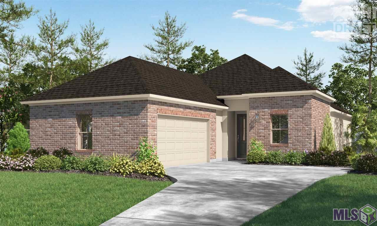 """Estimated completion date: 01/29/2021 This single-family residential community off of HWY 42 features 130 homes in a country setting, boasting architectural brick finishes, sidewalks, curb and gutter, and neighborhood green spaces in a central lake community setting.Homes feature oversized ceramic tiles, hardwood flooring, Whirlpool appliances, crown molding, custom cabinetry, granite slab in kitchen and bath counters and Whirlpool tub in Master bath. All homes include a WiFi enabled SmartHome management hub with wireless security system and exterior security camera. Six months of alarm monitoring is included. All homes include a wirreless smoke/heat combination detector as well as a WiFi enabled thermostat with moisture controls and advanced filtration systems. Visit the """"Build Smart"""" area of our website to find additional information. The Winslow plan is a 4bed/2bath single story home offering spacious open living and dining areas with 10' ceilings. Both living and dining are adjacent to the kitchen perfect for large gatherings. Wood floors in living, dining, foyer areas, carpet in bedrooms, and oversized ceramic in wet areas. Gourmet kitchen features central work island, stainless steel smart appliances with gas cooktop, separate wall oven and full walk-in pantry. Custom milled cabinetry throughout. 3cm granite counters in kitchen and all baths. Master bedroom has en suite bathroom with dual vanities, WC, walk-in shower, garden tub and large walk-in closet. Home includes full sized utility room and added linen storage. Enclosed 2 car garage provides secure entry to the home. Price of the home includes:Kitchen cabinets to ceiling, 12x12 patio extension, wood framed mirrors in bathrooms, and trash can pull out. Homes in Ironwood Estates qualify for 100% financing through USDA Rural Development. Receive $5,000 in closing costs when using our preferred lenders and title companies. (Restrictions Apply)."""