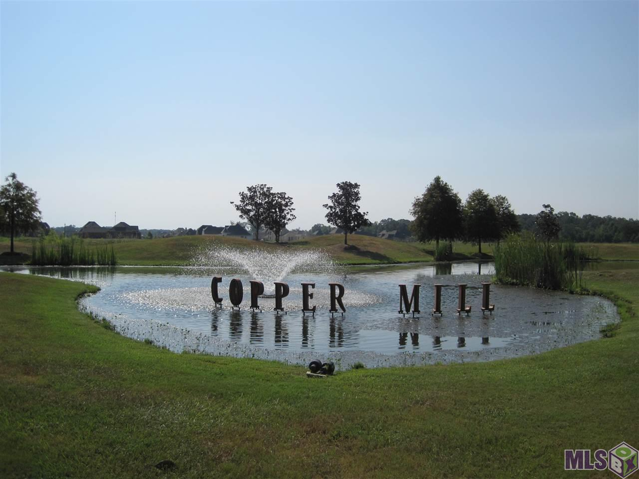 Wonderful golf course lot in popular Copper Mill Golf Community.  Build your dream home on this lot overlooking number 16 of the golf course.  Enjoy the lifestyle of Copper Mill including a family golf membership, Turnberry Park, Community Pool and Splash Pad, Fishing Pond, Walking Trails, Tennis Courts and so much more!  Call today for details