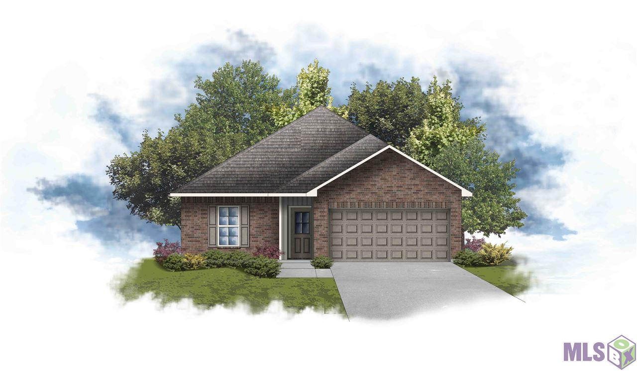 Ready by January 2021!  The PRINCETON III G in Camellia Cove community offers a 3 bedroom, 2 full bathroom, open design.  This home site backs up to a wooded area.  Upgrades include upgraded granite countertops, stainless gas appliance package, cabinet hardware, and more! Special Features:  walk-in closet in the master suite, walk-in pantry, covered rear patio, recessed can lighting, undermount sinks, birch cabinets throughout, luxury vinyl plank flooring in the living room, halls, and all wet areas, ceiling fans in the living room and master bedroom, Honeywell Smart Connect WiFi thermostat, Tuscan bronze plumbing fixtures, smoke and carbon monoxide detectors, post tension slab, automatic garage door with 2 remotes, seasonal landscaping package, architectural 30-year shingles, and more!  Energy Efficient Features:  tankless gas water heater, low E tilt-in windows, radiant barrier roof decking, and more!