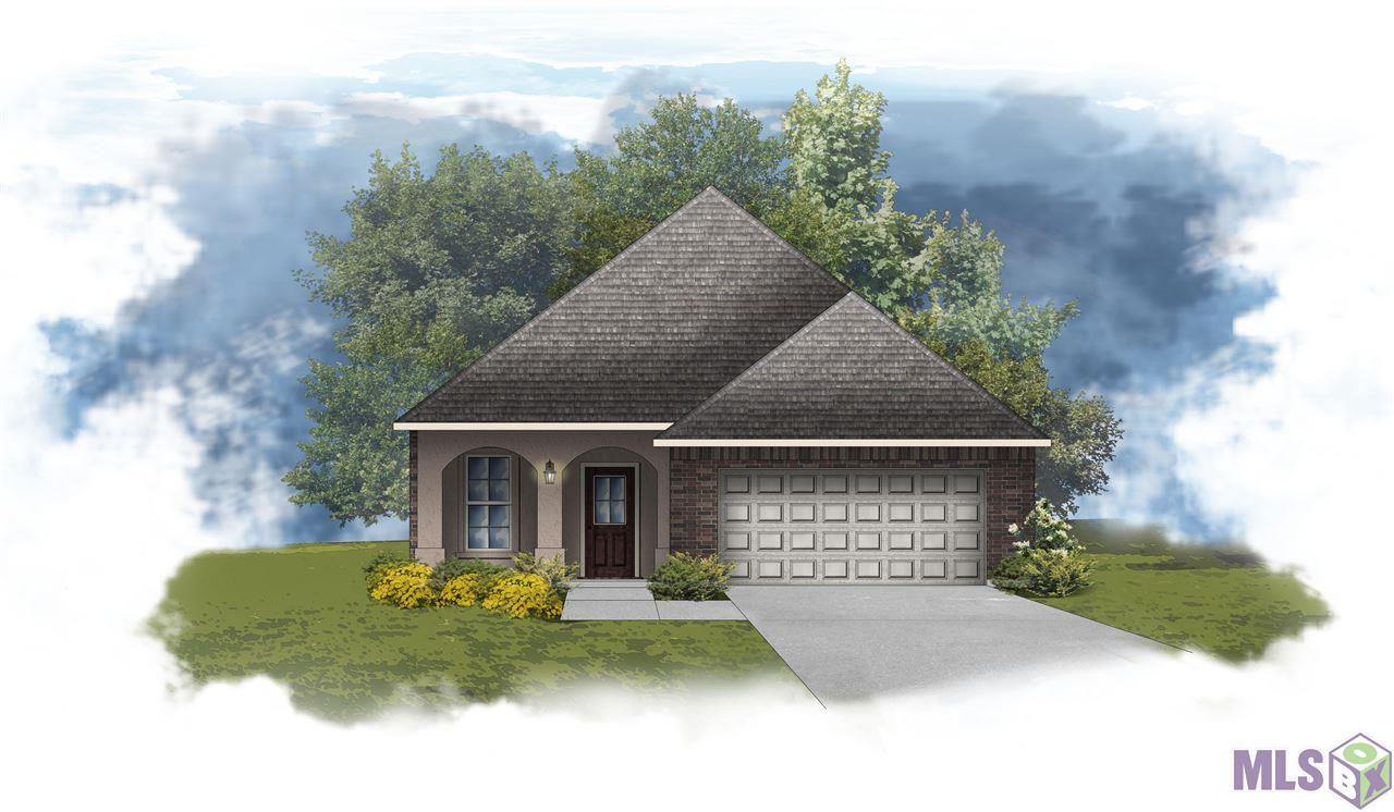 Ready by January 2021!  The FONTAINE IV A in Cedar Springs community offers a 3 bedroom, 2 full bathroom, open design with a corner fireplace.  Upgrades include luxury vinyl plank flooring, stainless gas appliance package, framed mirrors for all bathrooms, cabinet hardware, and more!    Special Features:  private water closet, double vanity, garden tub, separate shower, and walk-in closet in the master suite, kitchen island, covered front porch, covered rear patio, granite countertops, undermount sinks, birch cabinets throughout, decorative fireplace mantle with granite profile, recessed canned lighting, ceiling fans in the living room and master bedroom, Honeywell Smart Connect WiFi thermostat,  Tuscan bronze plumbing fixtures, smoke and carbon monoxide detectors, post tension slab, automatic garage door with 2 remotes, seasonal landscaping package, architectural 30-year shingles, and more!   Energy Efficient Features:  tankless gas water heater, Frigidaire stainless appliances, low E tilt-in windows, radiant barrier roof decking, and more!