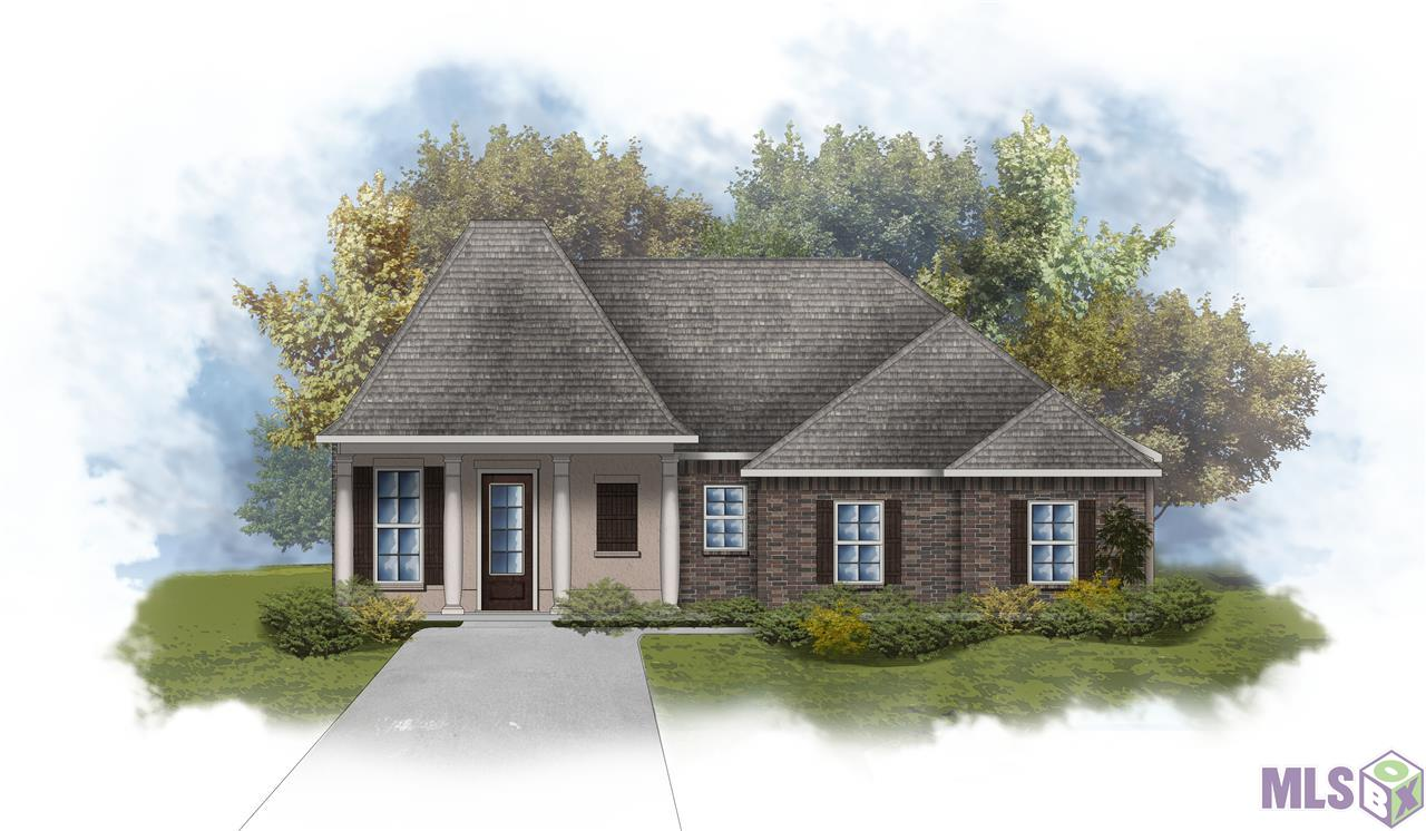 Ready by February 2021!  The LACOMBE III B in The Reserve at Conway community offers a 3 bedroom, 2 full bathroom, open design.  Upgrades added:   luxury wood-look tile flooring and stainless kitchen faucet upgrade.   Special Features:  double vanity, soaking tub, separate shower, and walk-in closet in the master suite, tray ceiling in the master bedroom, master closet walks through to the laundry room for added convenience, walk-in closet in bedroom 2, kitchen island, computer nook and boot bench in the mud room, covered front porch, covered rear patio, crown molding, recessed lighting, granite countertops, undermount sinks, custom backsplash in the kitchen, custom stained or painted cabinets with hardware throughout, decorative painted fireplace mantle with granite profile, upgraded paint throughout the home, Tuscan bronze plumbing fixtures, custom tiled shower with frameless shower door in the master suite, custom framed mirrors in all bathrooms, smoke and carbon monoxide detectors, post tension slab, automatic garage door with 2 remotes, seasonal landscaping package, architectural 30-year shingles, and more! Energy Efficient Features:  tankless gas water heater, Frigidaire stainless appliances with gas range, low E tilt-in windows, radiant barrier roof decking, and more!